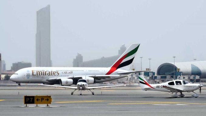 Emirates: Cirrus SR22 meets big brother