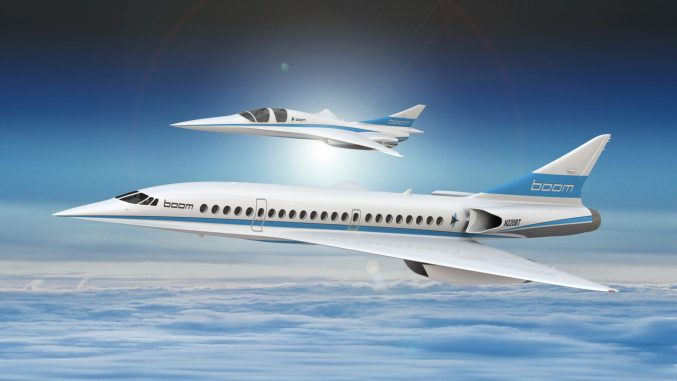 Supersonic Airliner gets backing from 2nd airline
