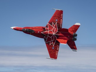 A Canadian CF-18 is the first aircraft to confirm for the 2018 Yeovilton Air Day.