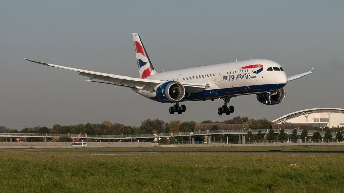 British Airways Boeing 787-9 Dreamliner