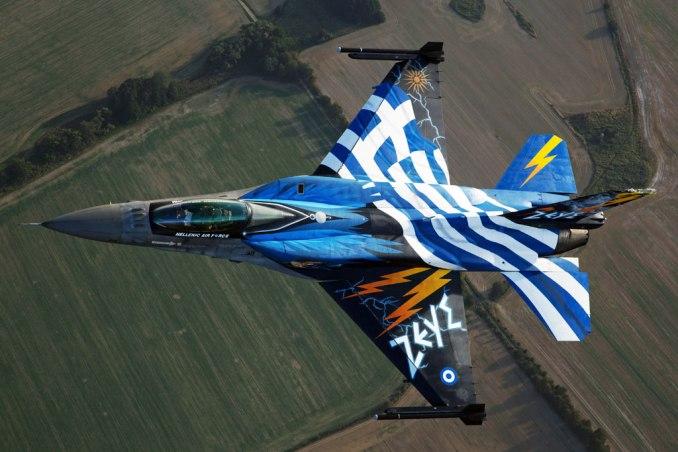 Hellenic Air Force F16 Zeus