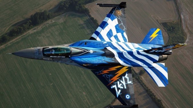 Hellenic Air Force F16 Zeus
