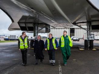 British Airways engineering students