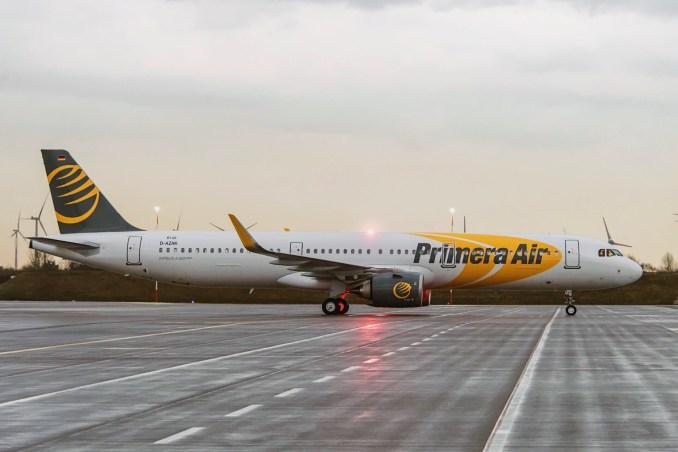 Primera Air A321neo OY-PAA