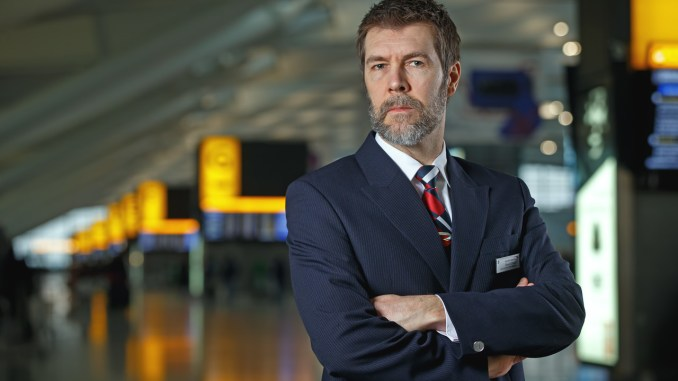 Rhod Gilbert's Work Experience at British Airways