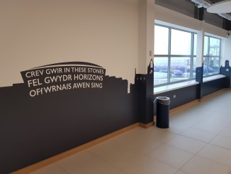 Cardiff Airport departure lounge extension