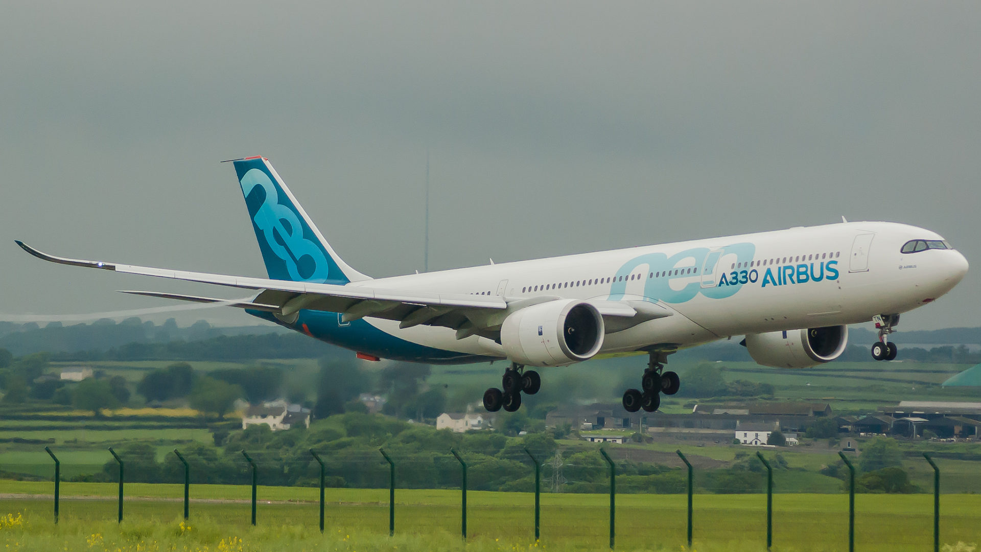 Airbus A330-900neo F-WTTN (Image: Angelo Harmsworth)