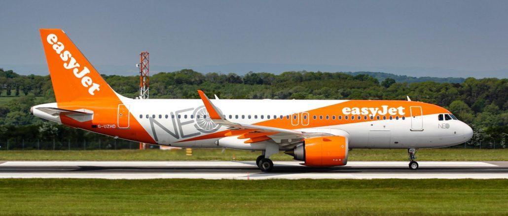 Easyjet A320neo (Image: The Aviation Media Co.)