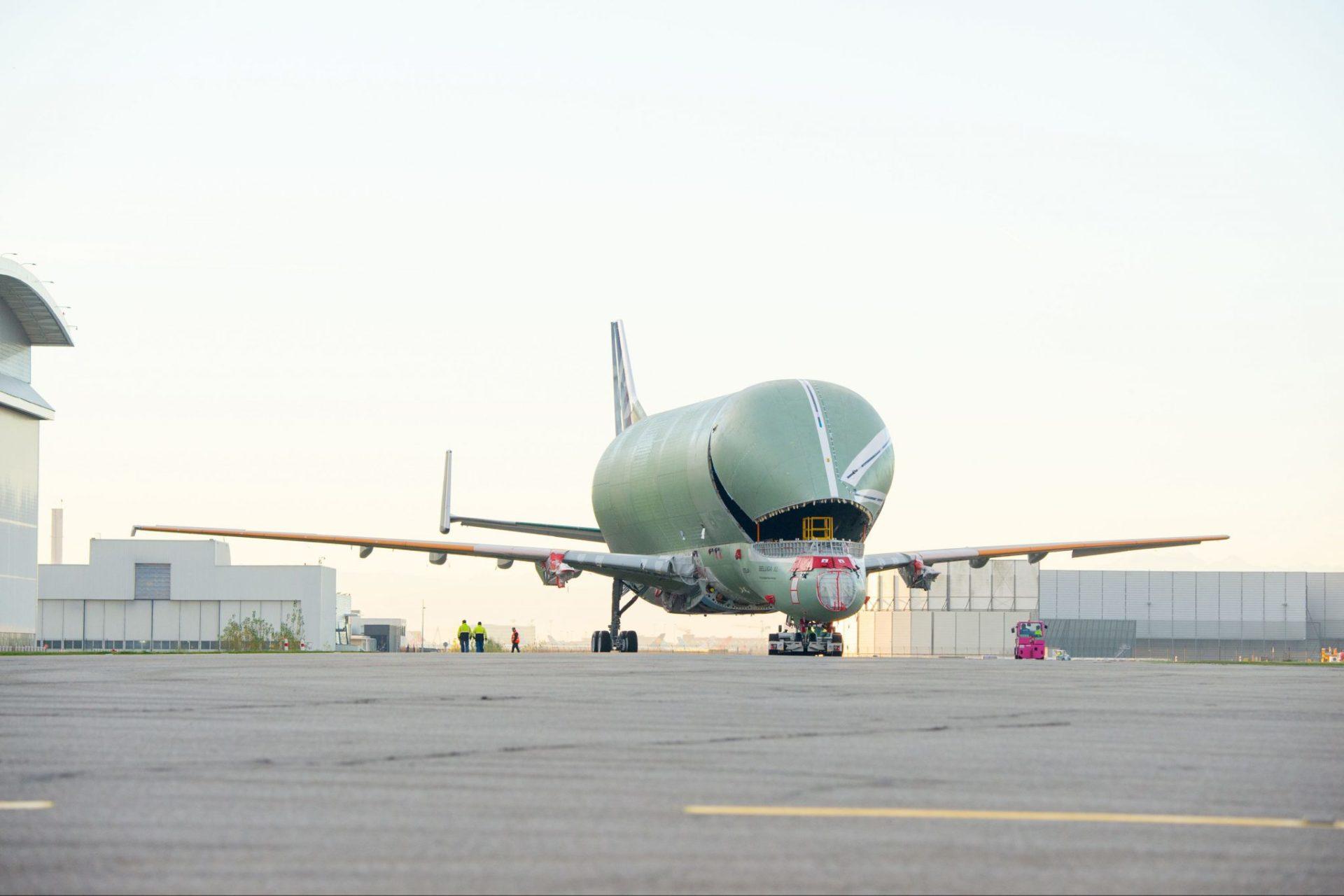 BelugaXL No1 (Image: P.Masclet/Airbus)