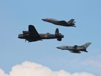 617 Squadron Flypast (Image: John Moore)