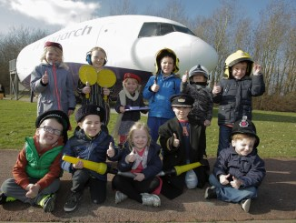 Manchester Airport RVP Flight Academy for kids