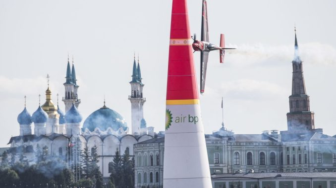 Ben Murphy in the Red Bull Air Race in Kazan (Image: Red Bull Air Race)