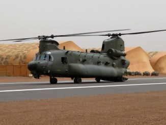 British helicopters have arrived in West Africa as the UK's support to a key French counter-terrorism operation in Mali reaches its next phase. (Image: © Crown Copyright 2013)