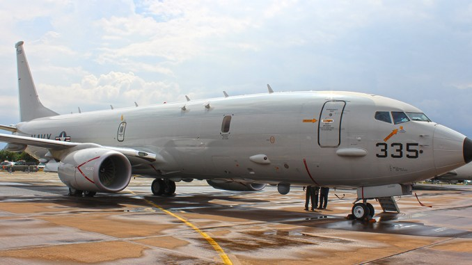 P8-A Poseidon (Image: The Aviation Media Co.)