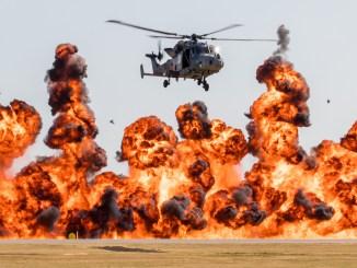 Wall of Fire (Image: Paul Johnson)