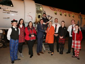 Loganair starts its Glasgow to Derry service