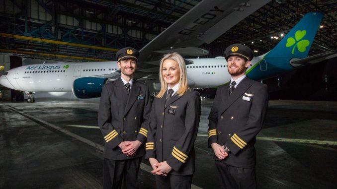 Aer Lingus brand refresh on A330