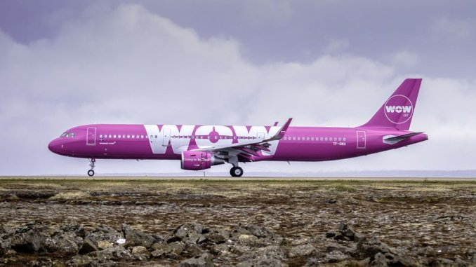 WOW Air Airbus Generic