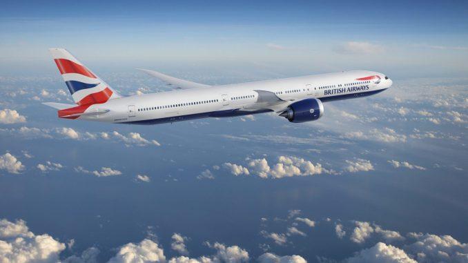 British Airways Boeing 777-9