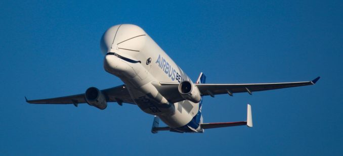 Airbus Beluga XL arrives at Airbus Filton (Image: Aviation Media Co.)