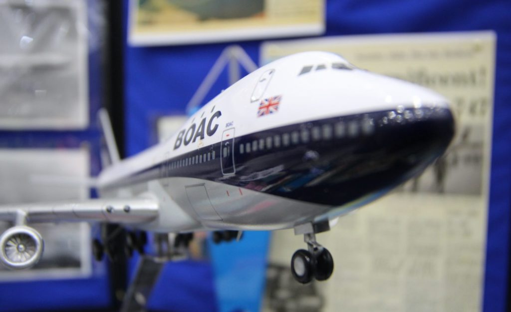 The original BOAC 747, albeit 1:200 scale one! (image: Aviation Media Co.)