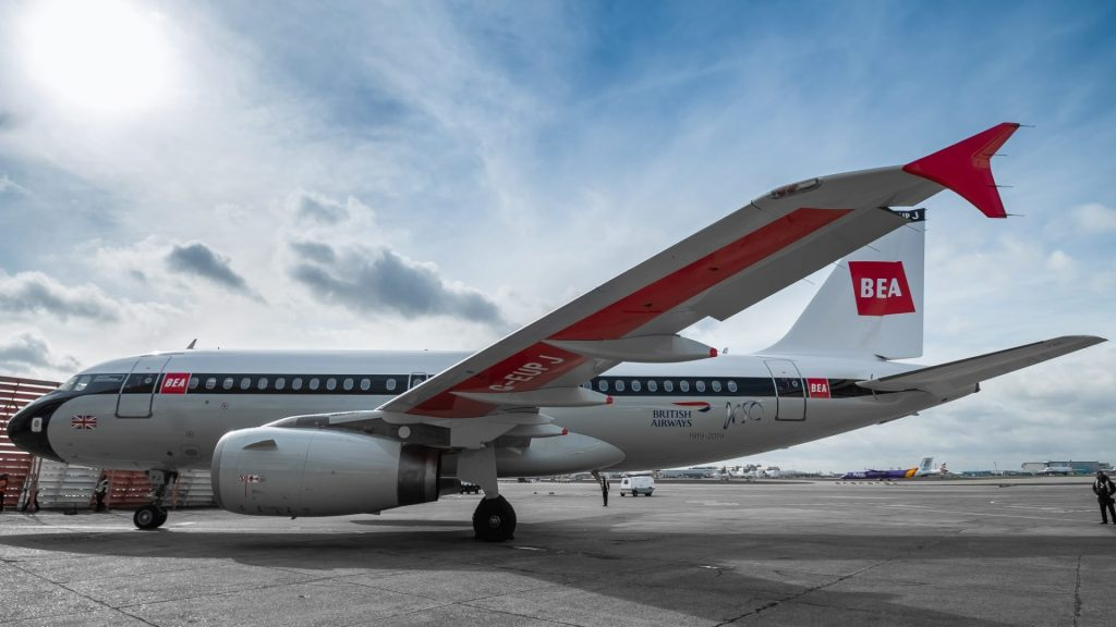 BEA Airbus A319 G-EUPJ (Image: Jamie Woodhouse-Wright/Aviation Media Co.)