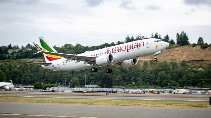 Ethiopian 737 Max 8 (Image: Boeing)