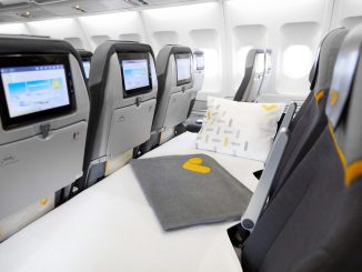 Thomas Cook Sleeper Seat