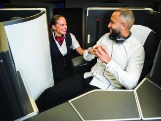 British Airways new Club Suite