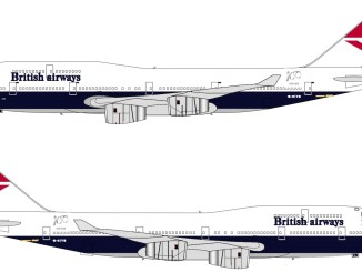British Airways G-CIVB NEGUS