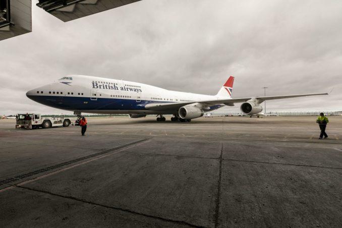 Boeing 747-400 G-CIVB leaves the paintshop in Dublin (Image: Stuart Bailey/British Airways)