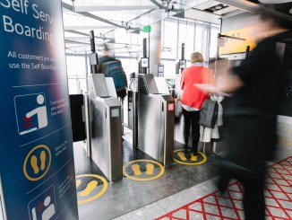 Biometric boarding gates (Image: British Airways/Stuart Bailey)