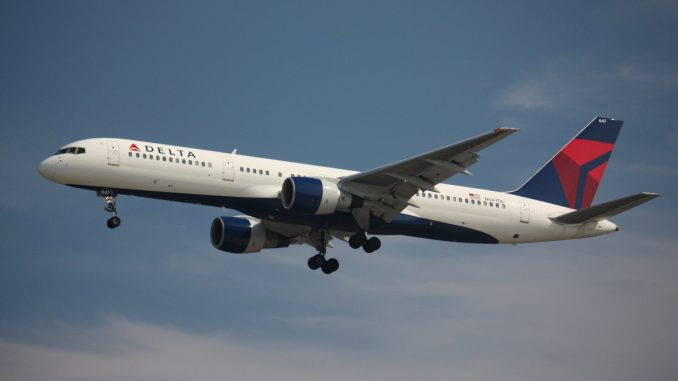 Delta AIrlines 757