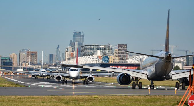 A busy scene at London City Airport (Image: Aviation Media Agency)