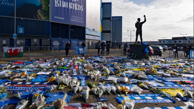Cardiff City Tributes to Emiliano Sala