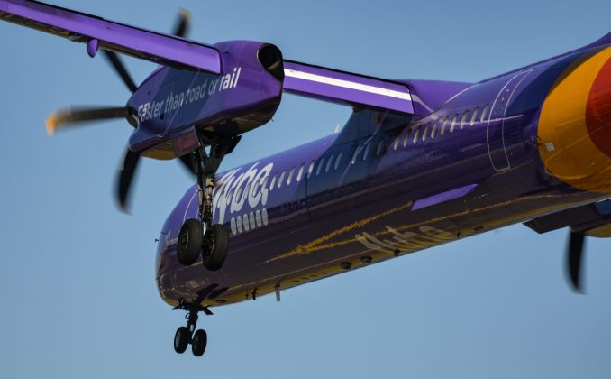 A Flybe Bombardier Dash 8 Q400 (Image: Aviation Media Agency)