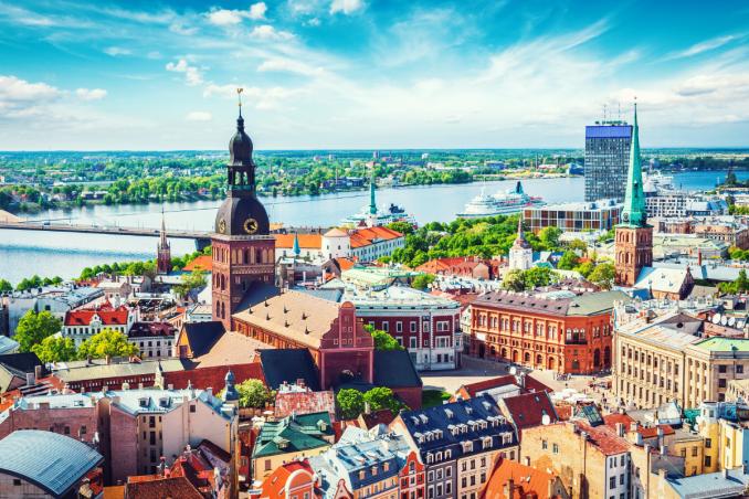 Riga is the Capital City of Latvia