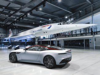 British Airways Aston Martin DBS Superleggera Concorde Edition