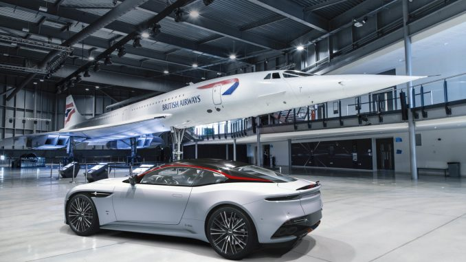 British Airways Aston Martin DBS Superleggera Concorde Edition