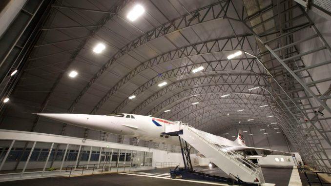 G-BOAC Concorde Manchester