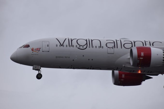 Virgin Boeing 787-9 Dreamliner