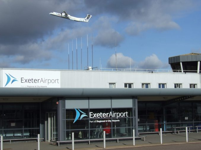 Exeter Airport & Flybe Aircraft (Image: Exeter Airport)