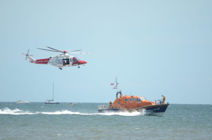 Coastguard Helicopters and the RNLI Lifeboats were favourites at the Wales National Airshow