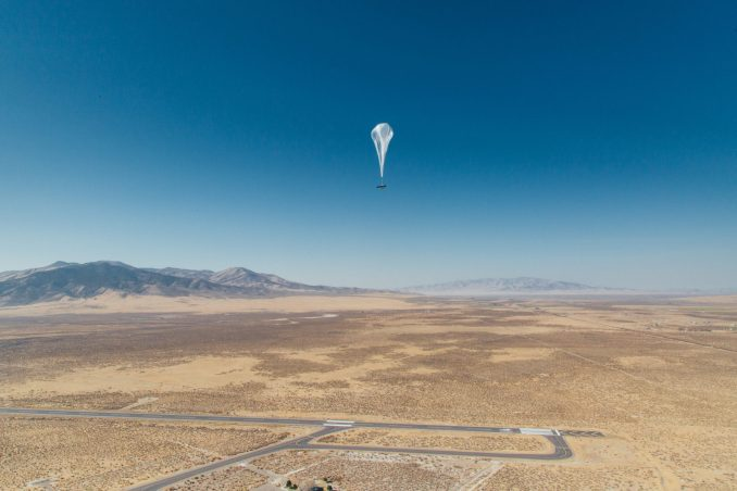 A Project Loon Balloon (Source: Loon)