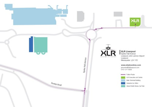 Liverpool Airport XLR Map