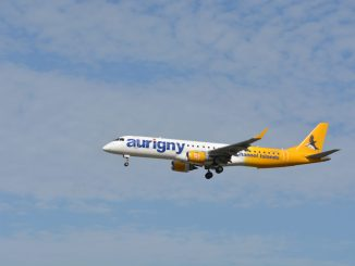 An Aurigny Embraer Image: Aviation Media Agency)