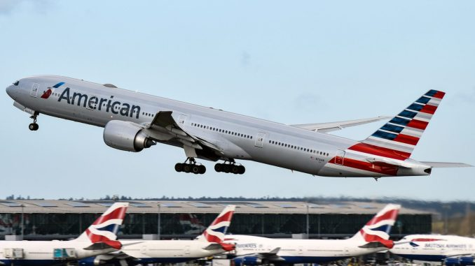 An American Airlines Boeing 777 (Image: Aviation Media Agency)