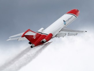 Special Missions B727 Spray Operation