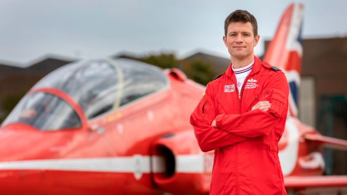 Sqn Ldr Tom Bould is the New Red 1 for 2021 (Image: MOD/Crown Copyright 2020)