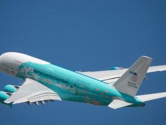 Hi Fly Malta Airbus A380 9H-MIP